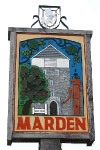 marden village sign
